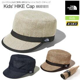 【正規取扱店】ノースフェイス THE NORTH FACE 帽子 キッズ レディース ハイクキャップ KIDS HIKE CAP NNJ01811 21SS 2102wannado[M便 1/1]