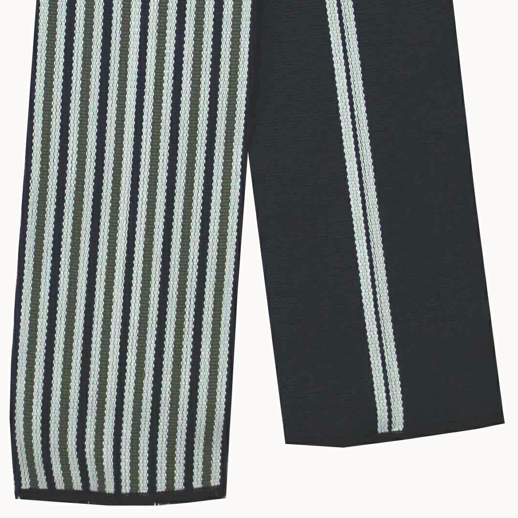 旅館浴衣用丹前袋帯【メール便OK】【もちろん激安】【1本単位でこの価格】織帯「紺ネズ緑」