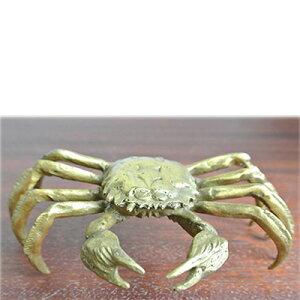 財運UP!真鍮製の蟹の置物