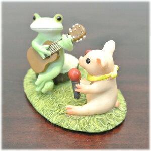ギターカエルマラカス仔ブタ