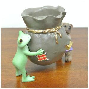 カエルクマキャンドルホルダー