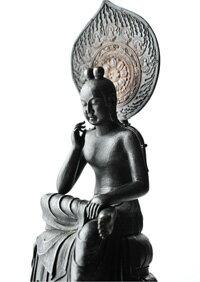 菩薩半跏像(ぼさつはんかぞう)