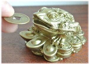 財運UP!八卦金蛙の置物