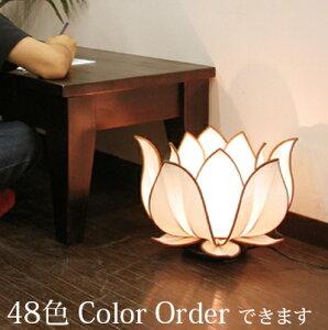 (ロータスフラワー L フロアランプ)フロアライト アジアン 照明 間接照明 おしゃれ かわいい ランプ リビング テーブルライト 照明器具 ライト led LED ロータス(蓮 花 フラワー)シノワズリ ア
