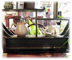 アジアン家具桃の飾り棚