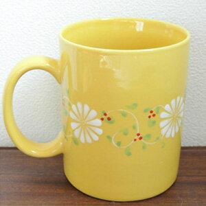 フラワーマグカップ[イエロー]