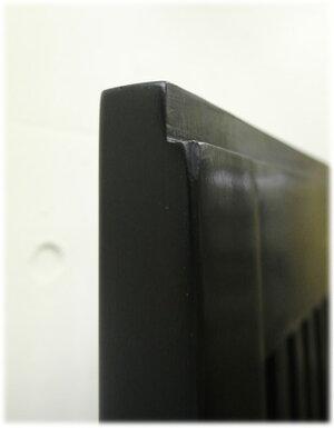 縦格子蓮の透かし彫りドアパネル