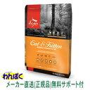 【クーポン有】 オリジン キャット&キトン 340g キャットフード 子猫 成猫 正規品 メール便 ドライフード お試し ALE