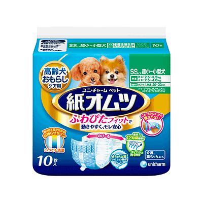 ユニチャーム ペット用紙オムツSSサイズ10枚 ペット用 犬用