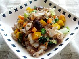 【無添加】 豚軟骨とたっぷり野菜のローズマリー風味 【ドッグフード ドックフード DOG FOOD 犬 手作りご飯 手作り食 ペットフード】