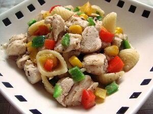 【無添加】 ささみとパルメザンチーズのガーリック炒め 【ドッグフード DOG FOOD 犬 手作りご飯 手作り食】