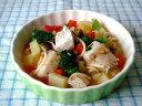 【無添加】白身魚の具だくさんパスタ【ドッグフード DOG FOOD 犬 手作りご飯 手作り食】