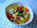 【無添加】夏野菜と芽キャベツのチキンポトフ【ドッグフード DOG FOOD 犬 手作りご飯 手作り食】