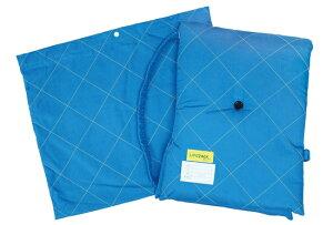 カラフル防災ずきんBOZU かぜ(ブルー) カバー付き