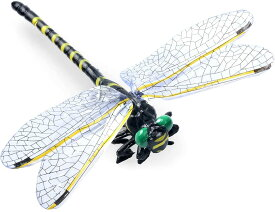 UOOMAI オニヤンマ トンボ 蜻蛉 とんぼ 昆虫 動物 虫除け 家 おもちゃ 模型 リアル PVC インテリア タイプ 虫よけ おにやんま キャンプ 登山 渓流釣り 1匹