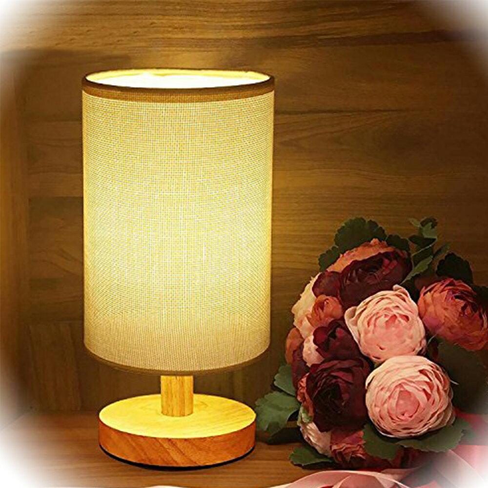 ベッドサイドランプ テーブルライト 和風スタンド 間接照明 LED電球付き リビング 寝室【三年保証】