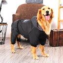 犬の服 ロンパース つなぎ 大型犬 中型犬 ジャケット 裏ボア 暖かい おしゃれ かっこいい ゴールデン フライトジャケ…