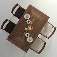 ダイニングテーブル4SEASON-wa/サイズ対応/木製/天然木/送料無料/ウォールナット材/和モダン/家具メーカー/カラフル/楽しい/日本製/シンプル