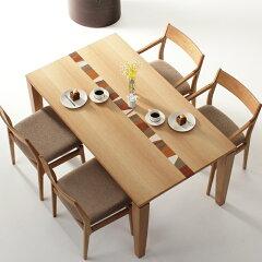 ダイニングテーブルGAGA-ho/サイズ対応/木製/天然木/ホワイトオーク材/和モダン/カラフル/楽しい