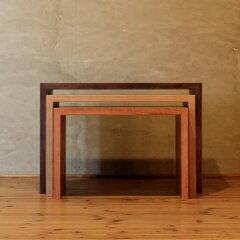KASANETABLE-mix/ネストテーブル/ローテーブル/リビングテーブル/ソファーテーブル/サイドテーブル/センターテーブル/スモール/小さい/和モダン/カラフル