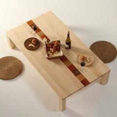 ローテーブルPICASSO-hm/サイズ対応/木製/天然木/カラフル/無垢材/センターテーブル/座卓/ちゃぶ台/ソファーテーブル/リビングテーブル/デザイン/無垢材/ハードメープル材