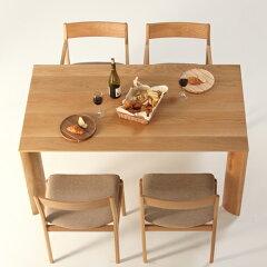 ダイニングテーブルSoftEdge-ho/サイズ対応/木製/天然木/ホワイトオーク材/無垢材/モダン/デザイン/オリジナル