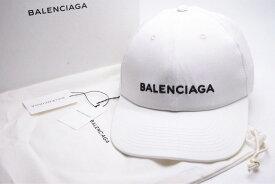 ◆[USED/中古]◆送料無料◆バレンシアガ CAP 帽子 ホワイト L 58 箱付き タグ付き 白 ユニセックス 新品同様◆ 【RCP】【中古】