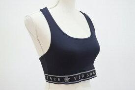 ◆[USED/美品]◆送料無料◆VERSACE ヴェルサーチ:Versace Intensive スポーツブラ ブラック 黒 メデューサ◆ 【RCP】【中古】◆