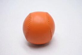 ◆[USED/中古]◆送料無料◆【未使用】レア 2007年 エルメス ノベルティ 野球 ボール インテリア 置物 HINOKICHO PARK 2007 オレンジ レザー 新品同様 13749 【RCP】【中古】
