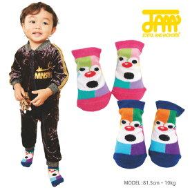 【10%OFF】カラフルテンチョーBABY SOX【JAM ジャム 18AW 子供服 ベビー 靴下】