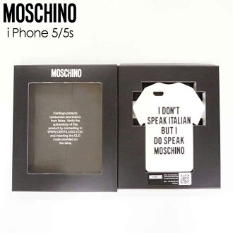 super popular 8eaae 0d472 Moschino (MOSCHINO) iphone case smartphone case i Phone 5/5s (size /0)  *xa0052