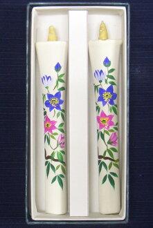 兩個神仙 10 蠟燭鐵件 (手繪) 圖片蠟燭日本蠟燭配件