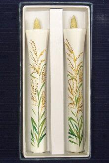 北海道 10 號畫蠟燭 (手繪) 2 件圖片蠟燭日本蠟燭配件