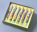 オリジナル 花しらべ 6号絵ろうそく 6本入 (手描き) 絵ローソク 和ろうそく 仏具