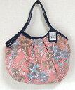 【メール便可】sisi グラニーバッグ 定番サイズ 藤 ピンク sisiバッグ ブロックプリント 布バッグ ショルダーバッグ