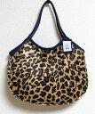 【メール便可】sisi グラニーバッグ 定番サイズ フェイクファー レオパード 豹柄 アニマル柄 sisiバッグ 布バッグ ショルダーバッグ
