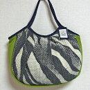 sisiグラニーバッグ定番サイズソファーグリーン軽くて使いやすくてたためる布バッグショルダーバッグ
