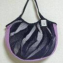 sisiグラニーバッグ定番サイズソファーパープル軽くて使いやすくてたためる布バッグショルダーバッグ