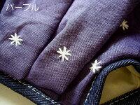 sisiミニグラニーバッグ刺繍シリーズブラックブルーグレイオレンジパープルsisiバッグちょっとそこまでに便利な布バッグ