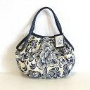 【メール便】sisi ミニグラニーバッグ リネンコットン 花柄 sisバッグ バッグ イン バッグ ちょっとそこまで布バッグ