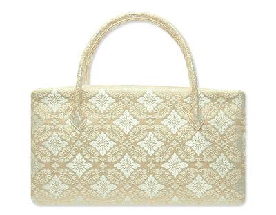西陣織金襴オリジナル和装バッグ「利休バック」me88