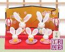 ひな人形 コンパクト リュウコドウ ミニチュア ひな祭り おしゃれ 桃の節句