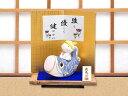 五月人形「陶製 手びねり風 鯉乗りわらべ」ri254 端午の節句 リュウコドウ||ミニ かわいい コンパクト ミニチュア 室…