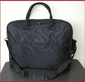 和装着物きものキルトバッグ黒色 和洋兼用&男性女性兼用 メンズレディース