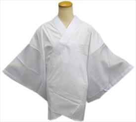 半襦袢 半じゅばん 夏用 絽 メンズ 男性 洗える 白 M L LL 日本製 夏物 和装 着物 浴衣 下着 男物