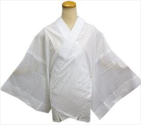 半襦袢 半じゅばん メンズ 男性 夏用 絽 紋紗 麻混 洗える 白 M L 夏物 男物 和装 着物 浴衣 下着