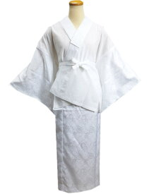 二部式襦袢 洗える 白色 M L 日本製 和装 着物 下着 留袖 結婚式 訪問着 喪服 女性用 レディース