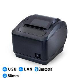 レシートプリンター サーマルプリンター WS-K260L 和信テック POSレジプリンター USB Lan Bluetooth スマホ印刷 80mm幅 ロイバース対応 業務用