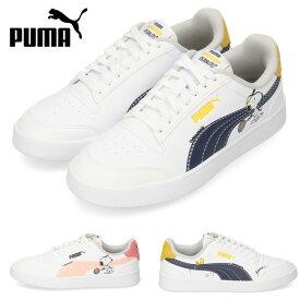 PUMA プーマ PEANUTS Puma Shuffle Jr 375739-01 02 キッズ ジュニア スニーカー スヌーピー ネイビー ブラック ピンク