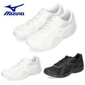 ミズノ MIZUNO メンズ レディース スニーカー マキシマイザー22 K1GA2002 ホワイト ブラック 3E 通学 WW-66-201 BB-11-209 ランニングシューズ セール